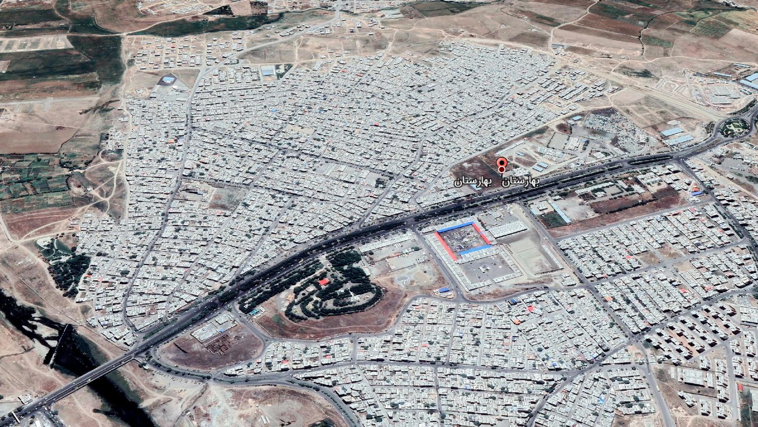 بهارستانی ها به نام محله خود معترض اند