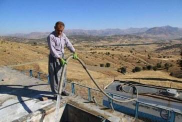 <span style='color:black;font-size:14px;'>در استان پُر آبی همچون کردستان</span><br>۵۵ درصد روستاهای بانه کمبود شدید آب دارند