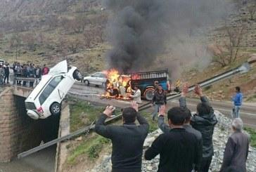 مدیرکل پزشکی قانونی کردستان خبر داد: رشد ۵٫۶ درصدی فوتیهای ناشی از تصادفات در کردستان