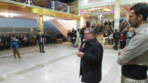 تبریک عثمان رحیمی به کاندیدای پیروز