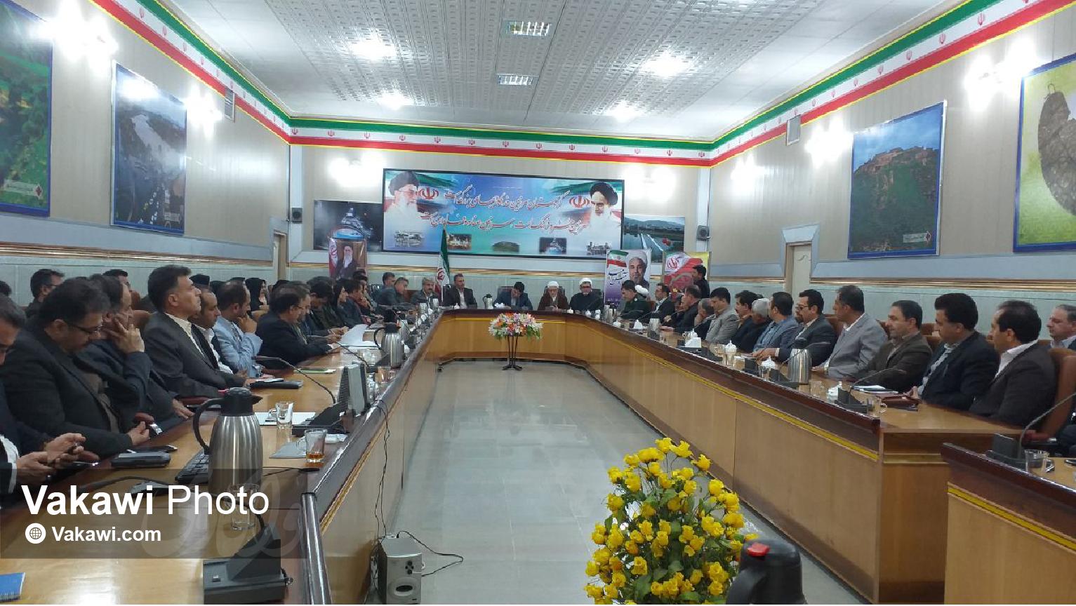 چهارمین جلسه شورای اداری شهرستان سقز