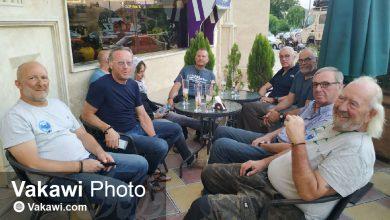 توریستهای فرانسوی در سقز