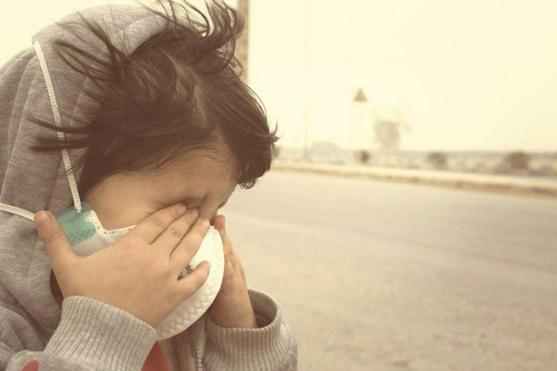 گرد و خاک آسمان کردستان را فرا می گیرد